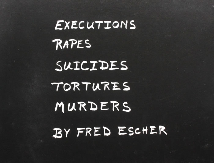 KILLINGS  Executions Rapes Suicides Tortures Murders  1980